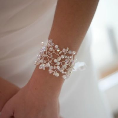 Florence bridal cuff bracelet, cuff bracelet, bridal bracelet, bridal cuff bracelet, bridal accessories, bridal jewellery
