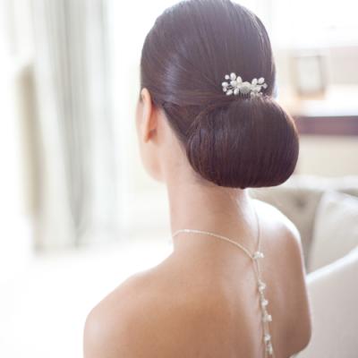 Ella bridal backdrop necklace, backdrop necklace, bridal necklace, bridal backdrop necklace, bridal back necklace, bridal lariat necklace. lariat style necklace, bridal accessories, bridal jewellery, sterling silver bridal necklace