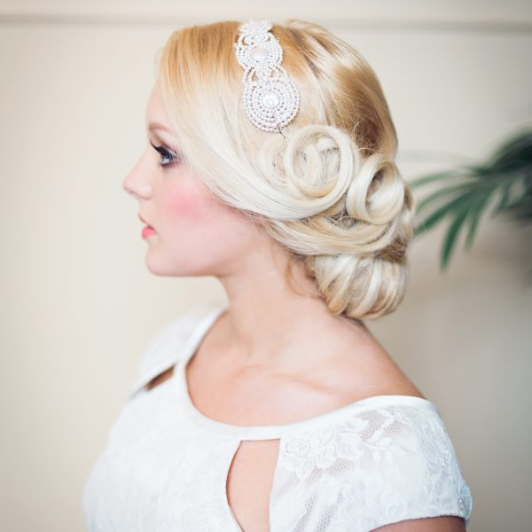 Gatsby inspired bridal headpiece, vintage inspired headpiece, vintage bridal headpiece, bridal headpiece, bridal hairband, bridal hair vine, vintage style, Gatsby style, bridal hair comb, bridal haircomb, bridal tiara, pearl bridal headpiece, pearl bridal hair vine, pearl vintage headpiece, pearl vintage bridal headpiece