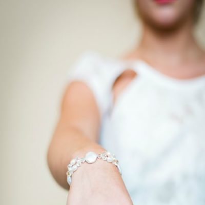 Sophia pearl bridal bracelet, pearl bridal bracelet, pearl and crystal bridal bracelet, swarovski crystal bridal bracelet, swarovski crystal bracelet, pearl bracelet, bridal jewellery, bridal accessories,