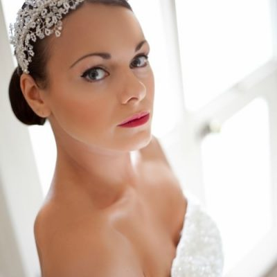 bridal headpiece, vintage inspired bridal headpiece, pearl and crystal bridal headpiece, pearl and crystal headpiece, custom made crystal headpieces