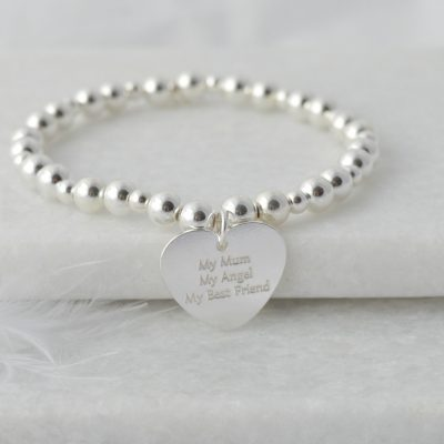 My mum, My angel, my best friend sterling silver bracelet, sterling silver bracelet, mothers day gift, birthday gift, mother of the bride, bracelet