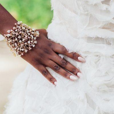 Blossom Bridal Cuff, cuff bracelet, bridal cuff, bridal bracelet, pearl bracelet, pearl cuff