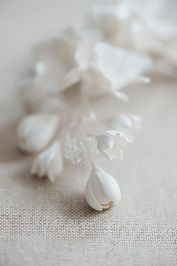 The Blossom & Bough bridal hair pin, bridal hair accessory, bridal hairpin, bridal headpiece, wedding hair pin, wedding hairpin, wedding hair accessory