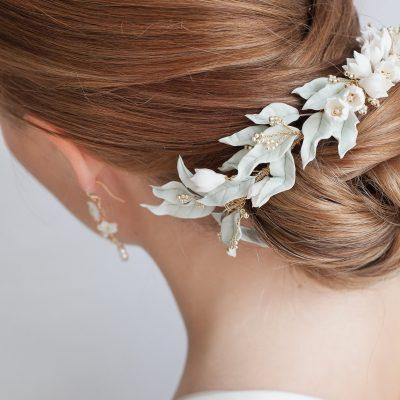 bridal headpiece, bridal hair accessories, wedding hair accessories, wedding headpiece, wedding hair vine, hair vine, tiara, headdress, bridal headdress,