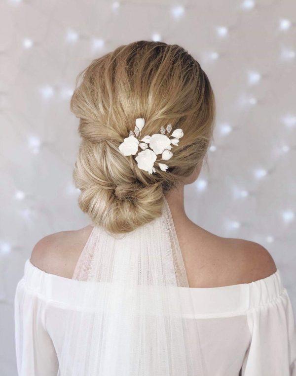 bridal hairpins, bridal hair accessories, wedding hair pins, wedding hairpins, bud & bloom bridal hairpins, bud & bloom wedding hair pins, bridal headpiece,