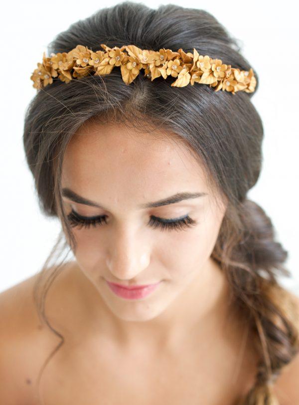 Orla headband, Orla bridal headpiece, bridal headpiece, bridal headband, bridal hair accessories, wedding hairband, wedding headpiece, wedding hair accessories, bridal hair vine, gold headpiece, gold hair vine