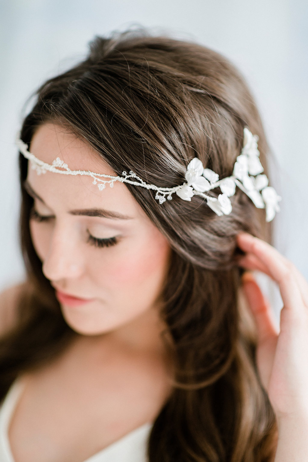 the bramble bridal headpiece